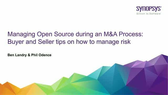 Open Source During an M&A Process: Buyer and Seller Tips on How to Manage Risk