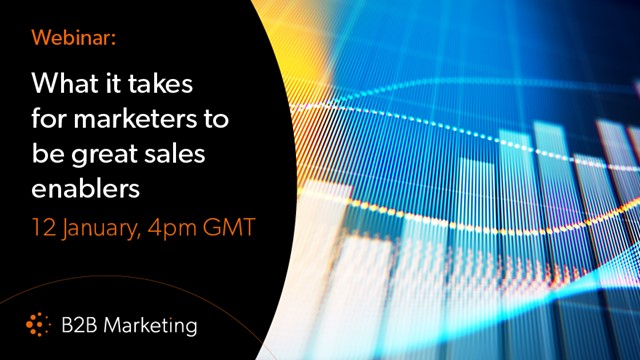 What it takes for marketers to be great sales enablers