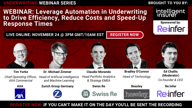 Leverage Automation in Underwriting to Reduce Costs & Speed-Up Response Times