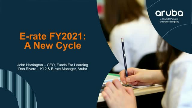 E-Rate FY2021- A New Cycle