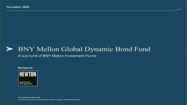 BNY Mellon Global Dynamic Bond Fund: 2020 review and outlook