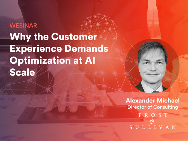 Why the Customer Experience Demand Optimization at AI Scale
