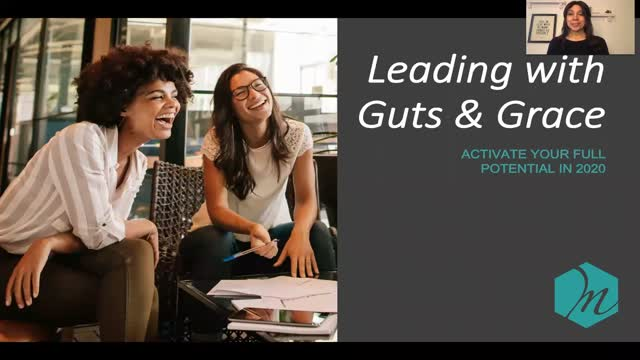Leading with Guts & Grace: Activate your Full Potential as a Woman in Business