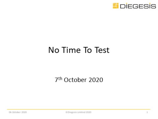 No Time to Test