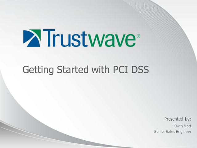 Getting Started with PCI DSS