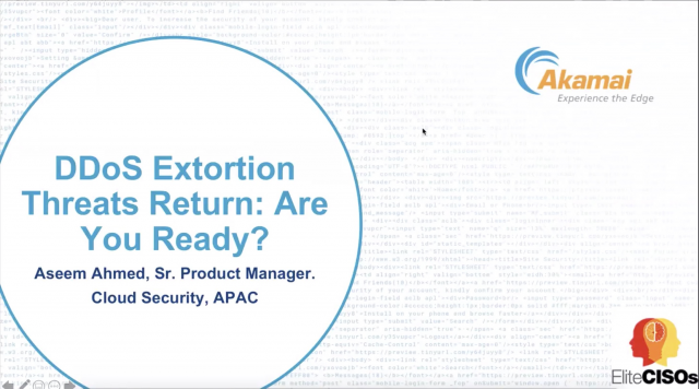 DDoS Extortion Threats Return: Are Your Defenses Ready? | Security Briefing