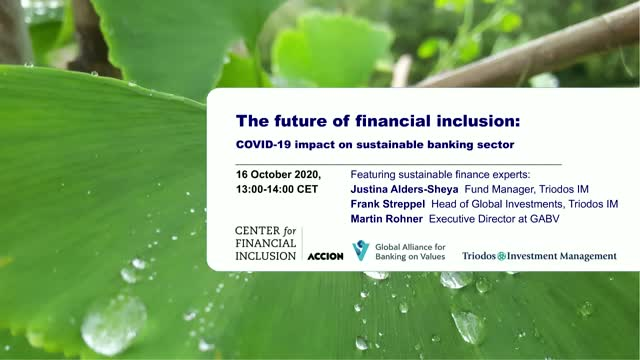 The future of financial inclusion: COVID-19 impact on sustainable banking sector