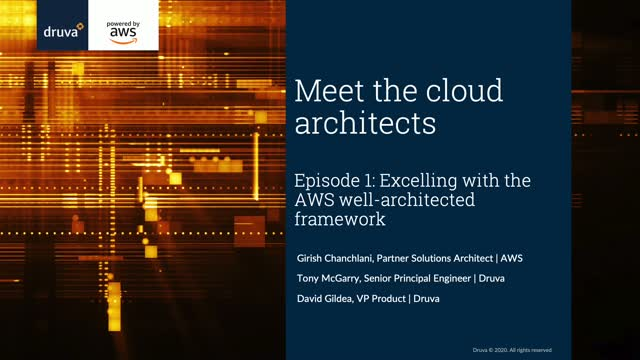 Meet the Cloud Architects Episode 1: Excelling with AWS