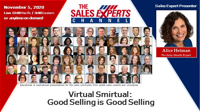 Virtual Smirtual: Good Selling is Good Selling