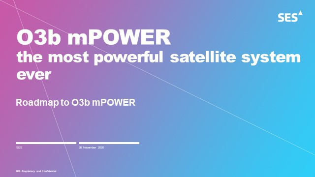 O3b mPOWER – the most powerful satellite system ever