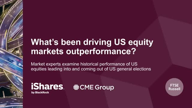 What's been driving US equity markets outperformance?