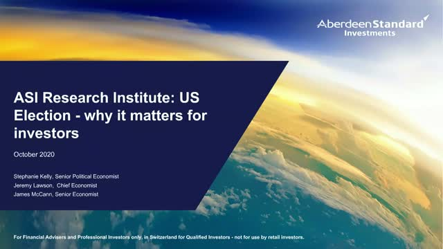 ASI Research Institute: US Election - why it matters for investors