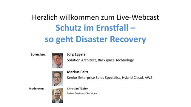 VMWare Desaster Recovery made simple