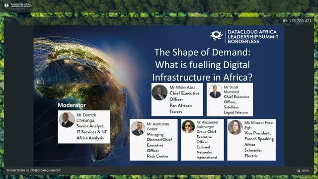 Panel discussion: The Shape of Demand - What is fuelling Digital Infrastructure