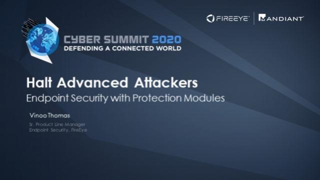 Halt Advanced Attackers: Endpoint Security with Protection Modules