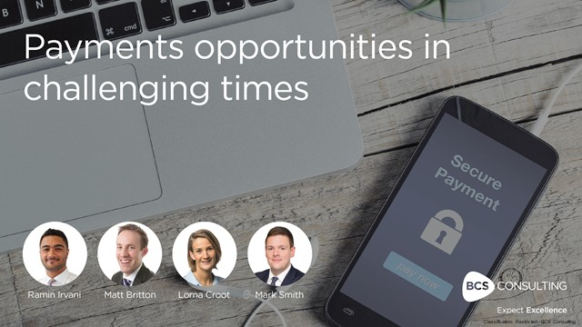 Payments opportunities in challenging times