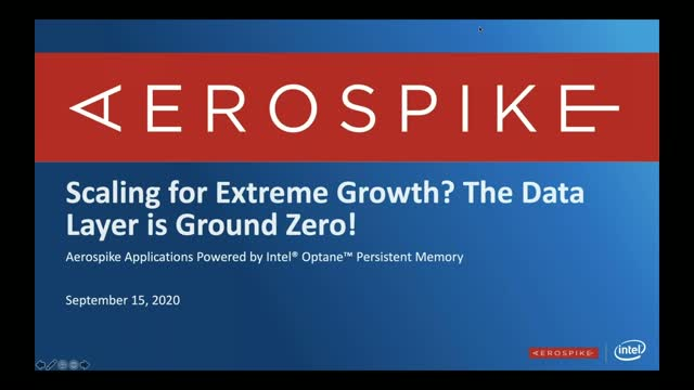Scaling for Extreme Growth? The Data Layer is Ground Zero