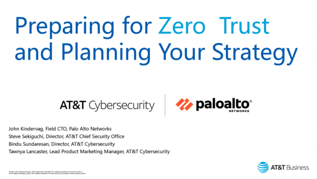 Preparing for Zero Trust and planning your strategy