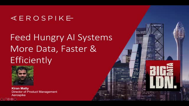 Feed Hungry AI Systems More Data, Faster & Efficiently
