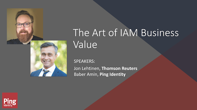 The Art of IAM Business Value