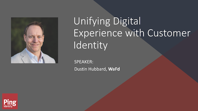 Unifying Digital Experience With Customer Identity