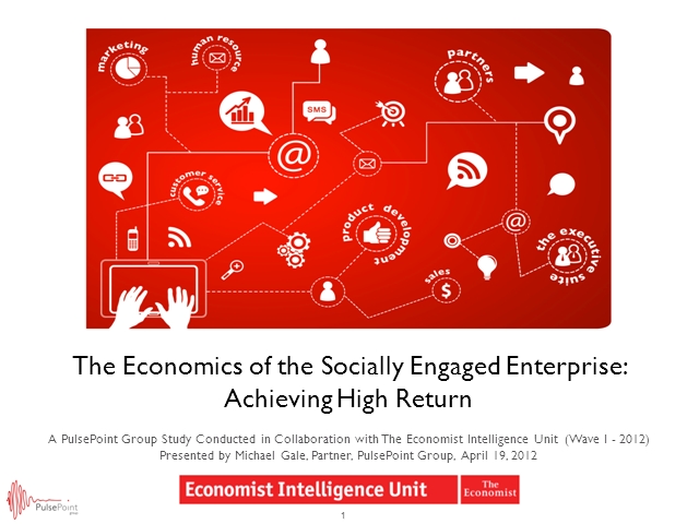 The Economics of the Socially Engaged Enterprise: Achieving High Return