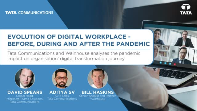 Evolution of Digital Workplace – Before, during and after the pandemic