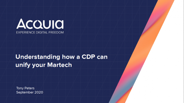 Understanding how a CDP can unify your Martech