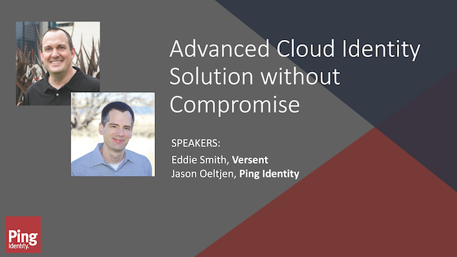 Advanced Cloud Identity Solution without Compromise