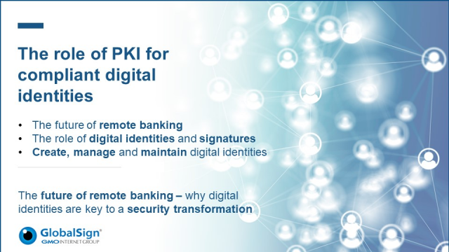 The role of PKI for compliant digital identities