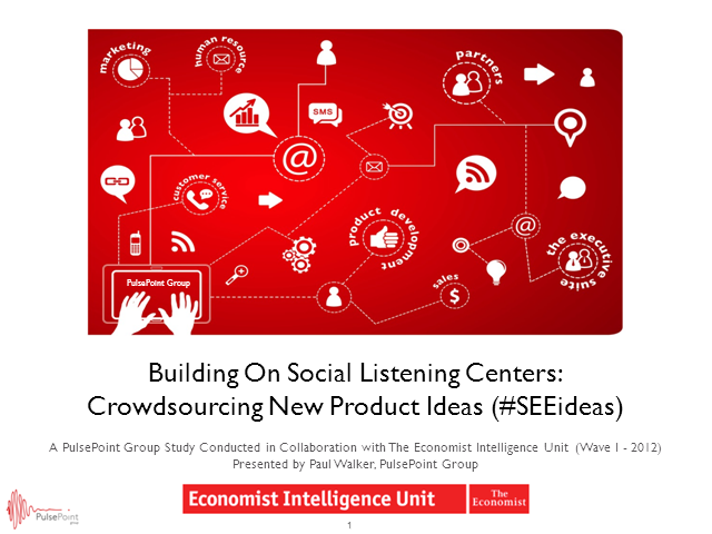 Building On Social Listening Centers: Crowdsourcing New Product Ideas
