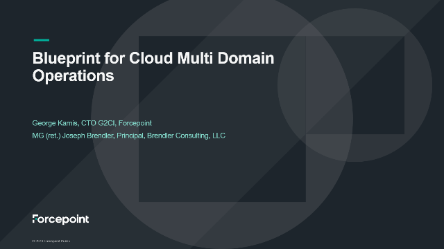 Blueprint for Cloud Multi Domain Operations