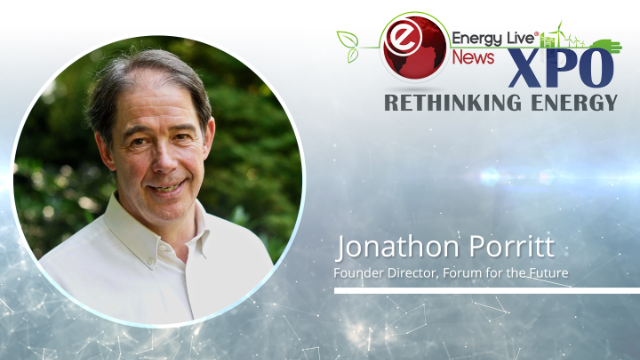 Energy Live Xpo headline session - Jonathon Porritt