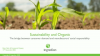 Organic & Sustainability – Consumer demand and your social responsibility
