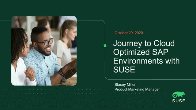 Journey to Cloud-Optimized SAP Environments: SUSE Global Services