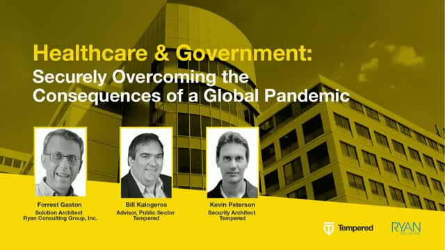 Health and Government: Securely Overcoming the Consequences of a Global Pandemic