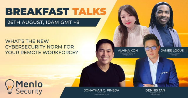 [Breakfast Talk: Ep. 3] New Cybersecurity Norms for Returning Employees