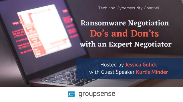 Ransomware Negotiation Do's and Don'ts with an Expert Negotiator