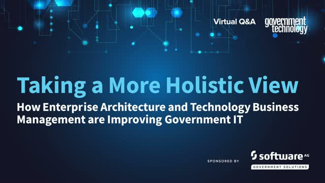 How Enterprise Architecture and TBM are Improving Government IT