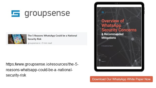 Securing WhatsApp - What You Need to Know Today