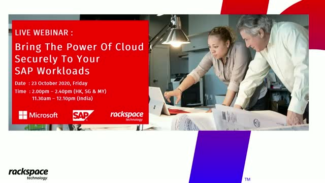 Bring The Power Of Cloud Securely To Your SAP Workloads