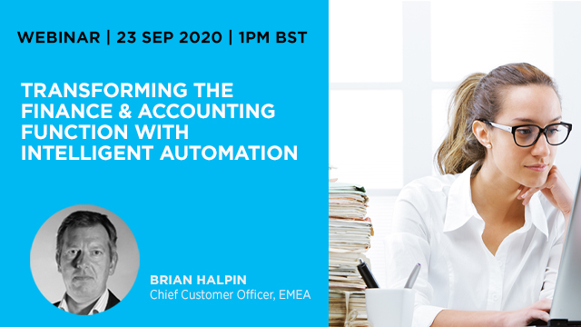 Transforming the Finance & Accounting Function with Intelligent Automation