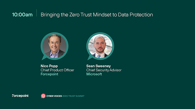 Bringing the Zero Trust Mindset to Data Protection