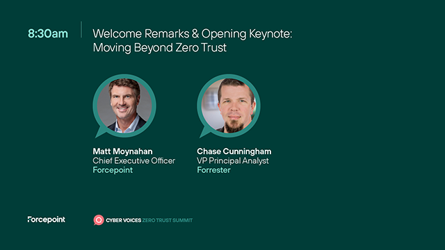 Opening Keynote: Moving Beyond Zero Trust