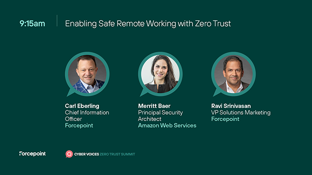 Enabling Safe Remote Working with Zero Trust