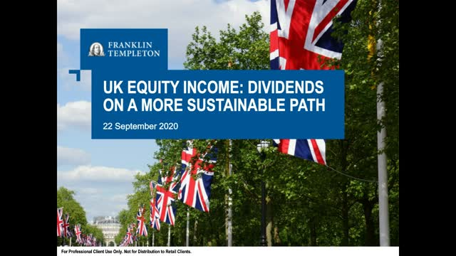 UK Equity Income: Dividends on a More Sustainable Path