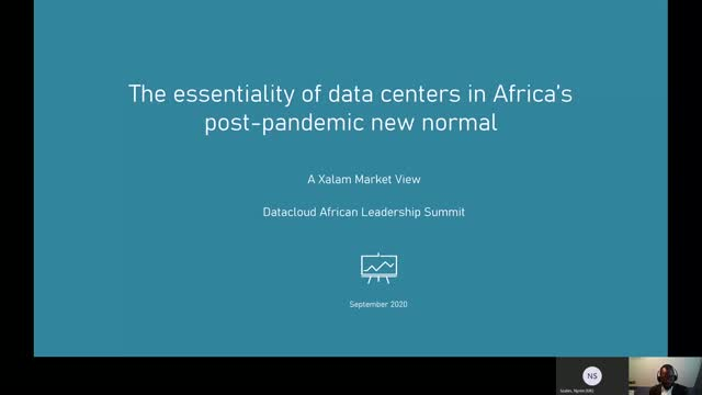 The essentiality of data centers in Africa's post-pandemic new normal