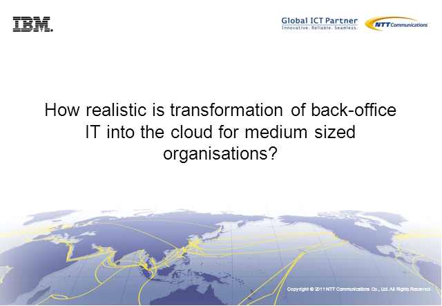 Transformation of Back-Office IT into the Cloud?