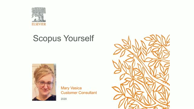 Scopus Yourself