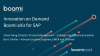 Boomi aXis for SAP: Unlock SAP Data for Quick Business Wins